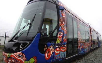 Alstom delivers its 1,500th Citadis tram for the opening of the new T7 line in the Ile-de-France