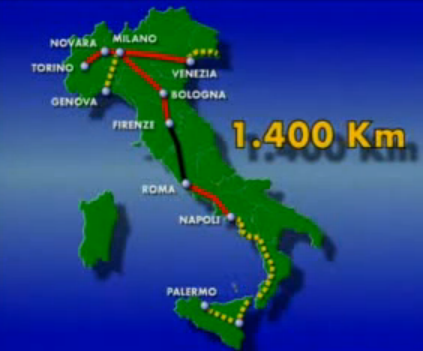 The Italian High Speed system and the ERTMS development
