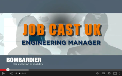 Bombardier Rail: jobcasting for online recruitment