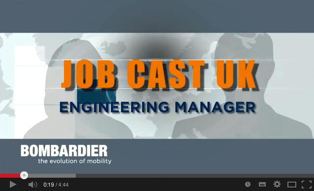 Bombardier Rail: jobcasting for online recruitment