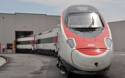 New Alstom's Pendolino: The Italian Job