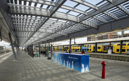 Deutsche Bahn launched the first CO2-free Railway Station
