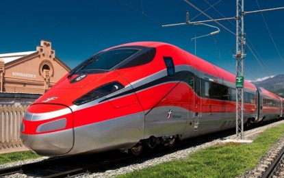 Bombardier Wins Maintenance Contract With Trenitalia for Frecciarossa 1000 Trains