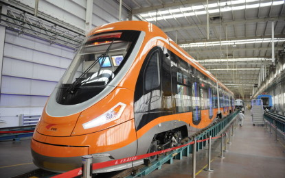 World's First Hydrogen Tram in China