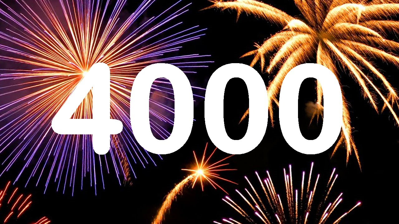 Happy new year to our 4000+ members!
