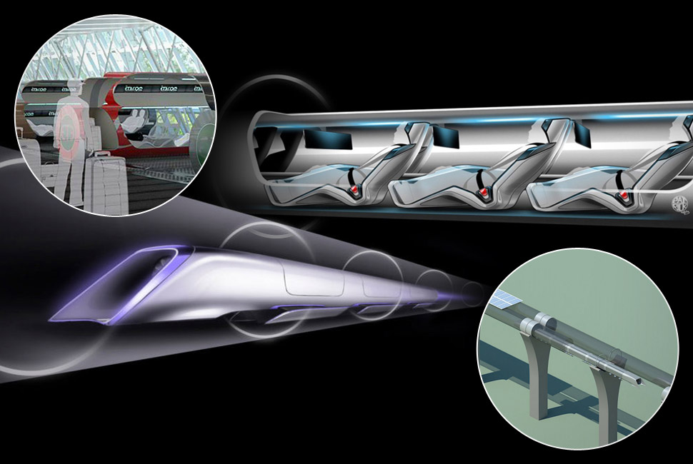 Supersonic speed train: watch the Hyperloop video