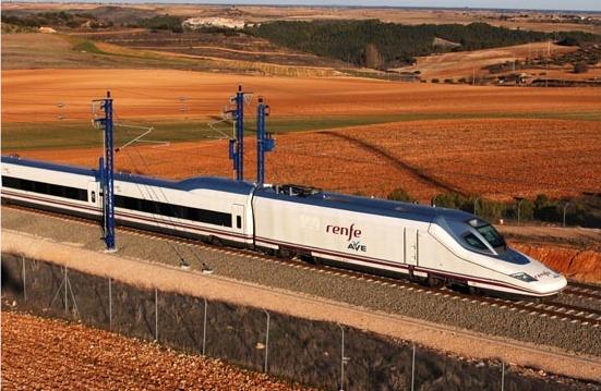 Spanish rail network