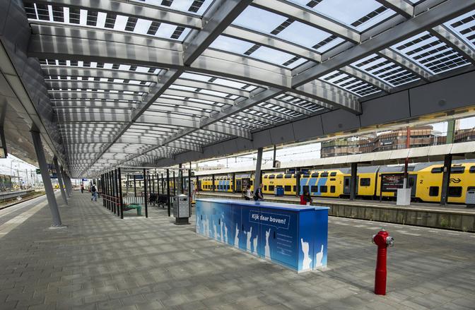 CO2-free Railway Station